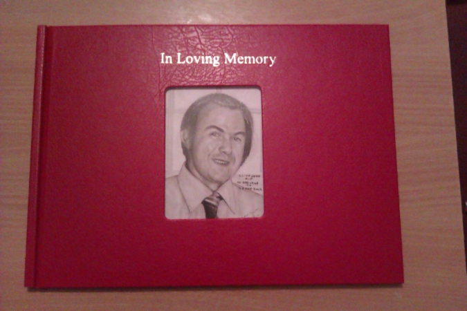 Uncle Clives Remembrance Book