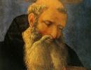 js57_Head of a Saint - Veneziano Domenico