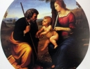js57_Holy Family with a Palm Tree - Raphael