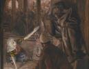 js57_The third denial of Peter Jesus look of reproach